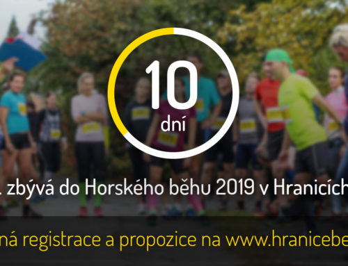 Do startu Horského běhu 2019 zbývá 10 dní!